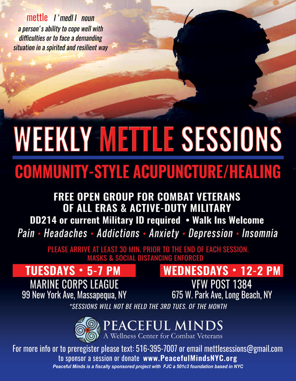 Weekly Mettle Sessions